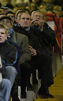 Photo: Olly Greenwood.<br />Charlton Athletic v Wycombe Wanderers. Carling Cup. 19/12/2006. Wycombe supporter Lawrence Dallaglio watches the game