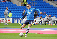 Preston North End's Jordan Storey during the pre-match warm-up <br /> <br /> Photographer Ian Cook/CameraSport<br /> <br /> The EFL Sky Bet Championship - Cardiff City v Preston North End - Saturday 21st December 2019 - Cardiff City Stadium - Cardiff<br /> <br /> World Copyright © 2019 CameraSport. All rights reserved. 43 Linden Ave. Countesthorpe. Leicester. England. LE8 5PG - Tel: +44 (0) 116 277 4147 - admin@camerasport.com - www.camerasport.com
