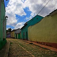 Central America, Cuba, Trinidad. Trinidad Street.