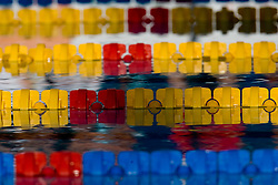 Detailed view of lane ropes during the 13th FINA World Championships Roma 2009, on July 28, 2009, at the Stadio del Nuoto,  in Foro Italico, Rome, Italy. (Photo by Vid Ponikvar / Sportida)