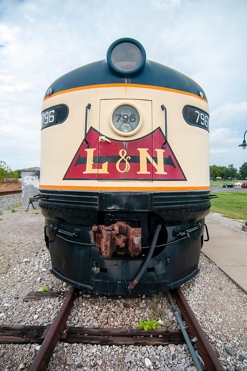 The Historic RailPark & Train Museum in Bowling Green, Kentucky on Wednesday, August 16, 2017. Copyright 2017 Jason Barnette