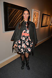 Tatiana at the 2017 PAD Collector's Preview, Berkeley Square, London, England. 02 October 2017.