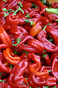 A heap of Red Peppers