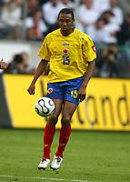 Fotball<br /> Landskamp<br /> Tyskland v Colombia<br /> 02.06.2006<br /> Foto: Imago/Digitalsport<br /> NORWAY ONLY<br /> <br /> John  Viafara (Kolumbien)