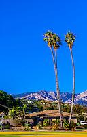 Shoreline Park, Santa Barbara, California USA.