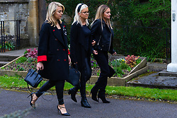 Family and friends attend the funeral for Love Island star Mike Thalassitis, who was found hanged in a park near his childhood home, takes place at Christ Church in Southgate, North London. London, April 05 2019.