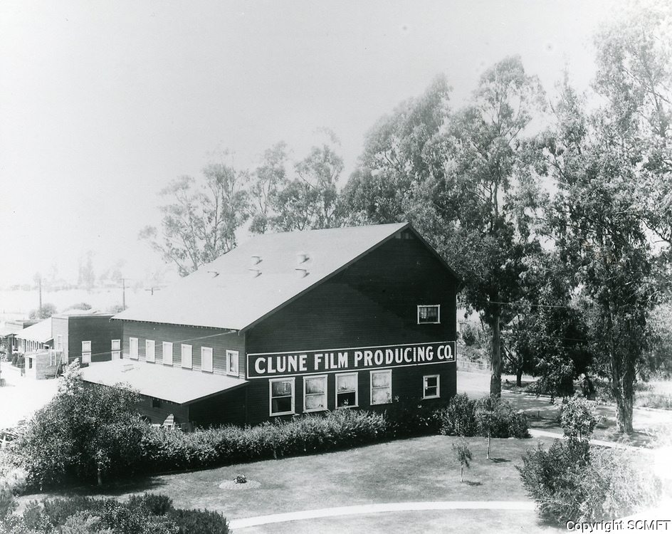 1915 Clune Studios on Melrose Ave & Bronson Ave.