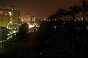 Belo Horizonte_MG, Brasil...Escuridao na Praca da Liberdade apos um temporal em Belo Horizonte...The Praca da Liberdade in darkness after the rain in Belo Horizonte...Foto: LEO DRUMOND / NITRO..