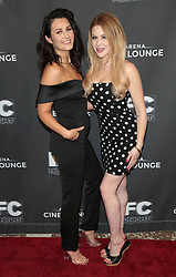 May 25, 2018 - Los Angeles, California, USA - 5/24/18.Scout Taylor-Compton and Renee Olstead at the premiere of ''Feral'' held at the Arena Cinelounge in Hollywood..(Los Angeles, CA) (Credit Image: © Starmax/Newscom via ZUMA Press)