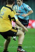 Bernard Foley. Waratahs v Hurricanes. 2012 Super Rugby round 15 match. Allianz Stadium, Sydney Australia on Saturday 2 June 2012. Photo: Clay Cross / photosport.co.nz