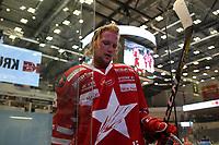GET-ligaen Ice Hockey, 27. october 2016 ,  Stavanger Oilers v Stjernen<br />Didrik Tollesfen fra Stjernen etter kampen mot Stavanger Oilers<br />Foto: Andrew Halseid Budd , Digitalsport
