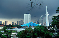 Malaisie - Kuala Lumpur - Mosquée Nationale // Malaysia. Kuala Lumpur. National Mosk.