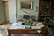 Saint Petersburg, Russia, 25/07/2005..Alexander Pushkin's study in his apartment in the National Pushkin Museum..
