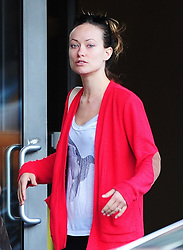 Olivia Wilde is seen with make up free coming back from the gym in the Meat Packing district, New York City, NY, USA on May 2, 2013. Photo by Morgan Dessalles/ABACAPRESS.COM  | 363014_008