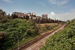 Taranto, maggio 2013.Percorso Strada Statale 106 Ionica, SS 106