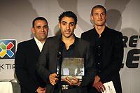 Fotball , 14. november 2010 , NISO-galla<br /> <br /> Moa , Mohammed Abdellaoue,  i bakgrunn Brede Hangeland , årest spiller