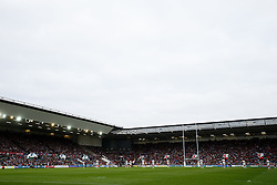 General View of a sold out asgton gate - Mandatory byline: Rogan Thomson/JMP - 25/05/2016 - RUGBY UNION - Ashton Gate Stadium - Bristol, England - Bristol Rugby v Doncaster Knights - Greene King IPA Championship Play Off FINAL 2nd Leg.