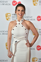 Hayley Atwell attending the Virgin TV British Academy Television Awards 2018 held at the Royal Festival Hall, Southbank Centre, London.