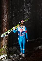 05.01.2013, Paul Ausserleitner Schanze, Bischofshofen, AUT, FIS Ski Sprung Weltcup, 61. Vierschanzentournee, Qualifikation, im Bild Tom Hilde (NOR) // Tom Hilde of Norway during Qualification of 61th Four Hills Tournament of FIS Ski Jumping World Cup at the Paul Ausserleitner Schanze, Bischofshofen, Austria on 2013/01/05. EXPA Pictures © 2012, PhotoCredit: EXPA/ Juergen Feichter