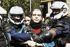 Demonstration In Solidarity With Hunger Striker Dimitris Koufontinas, Athens, 6 March 2021