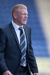 Falkirk's manager Gary Holt.<br /> Falkirk 3 v 1 Morton, Scottish Championship 17/8/2013.<br /> ©Michael Schofield.