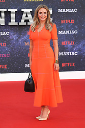 September 16, 2018 - London, England, United Kingdom - 9/13/18.Carol Vorderman at the Netflix Television series premiere of ''Maniac''..(London, England, UK) (Credit Image: © Starmax/Newscom via ZUMA Press)