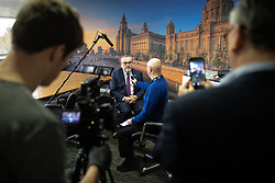 © Licensed to London News Pictures. 18/01/2019. Liverpool , UK. ZSA co-founder , JOE RAFFERTY , is interviewed by media about the letter . Ava Max's number one single , Sweet but Psycho , has been criticised by the Zero Suicide Alliance (ZSA), a suicide prevention campaign group . In an open letter to the pop star and UK broadcasters , co-signed by Liverpool Mayor Steve Rotherham and Luciana Berger MP , the ZSA say the song's lyrics and the video's imagery reinforce negative perceptions about people with mental health issues and undermines their effort to combat stigma , which can prevent suicidal people from seeking help , with potentially life-threatening consequences . Photo credit: Joel Goodman/LNP