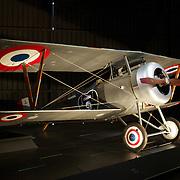Vintage aircraft on display at Omaka Aviation Heritage Centre, Aerodrome Road. Omaka, Blenheim. New Zealand, 10th February 2011. Photo Tim Clayton.
