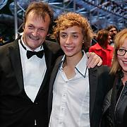 NLD/Utrecht/20121005- Gala van de Nederlandse Film 2012, Dave Schram en partner Maria Peters, Niels