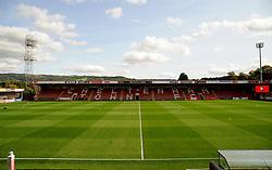 General views inside the stadium - Mandatory by-line: Nizaam Jones/JMP - 12/09/2020 - FOOTBALL - Jonny-Rocks Stadium - Cheltenham, England - Cheltenham Town v Morecambe - Sky Bet League Two