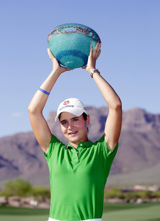 SUPERSTITION MOUNTAIN, AZ, March 25, 2007:   Lorena Ochoa won the Safeway International LPGA tournament in Superstition Mountain, AZ on March 25, 2007.