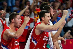 Dragan Milosavljevic of Serbia during the Final basketball match between National Teams  Slovenia and Serbia at Day 18 of the FIBA EuroBasket 2017 at Sinan Erdem Dome in Istanbul, Turkey on September 17, 2017. Photo by Vid Ponikvar / Sportida