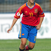 Spain's Priscila Borja MORENO during their UEFA 2013 Woman's Euro Qualifying Group Stage Group 2 soccer match Turkey betwen Spain at Kasimpasa Recep Tayyip Erdogan stadium in Istanbul September 17, 2011. Photo by TURKPIX