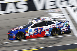 September 14, 2018 - Las Vegas, Nevada, United States of America - Chris Buescher (37) brings his race car down the front stretch during practice for the South Point 400 at Las Vegas Motor Speedway in Las Vegas, Nevada. (Credit Image: © Chris Owens Asp Inc/ASP via ZUMA Wire)