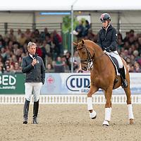 Charlotte Dujardin / Carl Hester Masterclass  - Royal Windsor Horse Show 2015