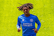 Queens Park Rangers midfielder Eberechi Eze (10) during the EFL Sky Bet Championship match between Queens Park Rangers and Barnsley at the Kiyan Prince Foundation Stadium, London, England on 20 June 2020.