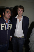 Luca del Bono and tom Parker-Bowles, Fiat Hydrogen launch at Sketch hosted by Lapo Elkann, SUPPLIED FOR ONE-TIME USE ONLY> DO NOT ARCHIVE. © Copyright Photograph by Dafydd Jones 66 Stockwell Park Rd. London SW9 0DA Tel 020 7733 0108 www.dafjones.com