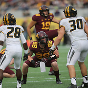 ORLANDO, FL - JANUARY 01:  Maxx Williams #88 of the Minnesota Golden Gophers is seen on the line during the Buffalo Wild Wings Citrus Bowl between the Minnesota Golden Gophers and the Missouri Tigers at the Florida Citrus Bowl on January 1, 2015 in Orlando, Florida. (Photo by Alex Menendez/Getty Images) *** Local Caption *** Maxx Williams