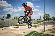 2021 UCI BMXSX World Cup 1&2<br /> Verona (Italy)<br /> Friday Practice<br /> ^me#42 SCHIPPERS, Jay (NED, ME) Pro Gate, Dutch National Team