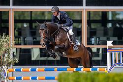 Vrieling Jur, NED, Kordon VDL<br /> Nationaal Kampioenschap KWPN<br /> 5 jarigen springen round 2<br /> Stal Tops - Valkenswaard 2020<br /> © Hippo Foto - Dirk Caremans<br /> 18/08/2020