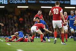 February 1, 2020, Cardiff (Wales, Italy: alessandro zanni (italia) durante una carica nel match against the galles during Wales vs Italy, Six Nations Rugby in Cardiff (Wales), Italy, February 01 2020 (Credit Image: © Massimiliano Carnabuci/IPA via ZUMA Press)