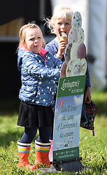The Whatley Manor International Horse Trials at Gatcombe Park, Minchinhampton, Gloucestershire, UK, on the 9th September 2017. 09 Sep 2017 Pictured: Mia Tindall, Isla Phillips. Photo credit: James Whatling / MEGA TheMegaAgency.com +1 888 505 6342