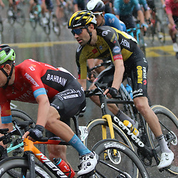 GSTAAD (SUI) CYCLING<br /> Tour de Suisse stage 4<br /> Start stage 4<br /> Tom Dumoulin