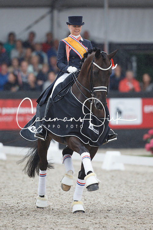 Van Der Vlist Maxime, (NED), Bailey<br /> V2 Facility Prijs - Grand Prix U25<br /> Dutch Championship Dressage - Ermelo 2015<br /> © Hippo Foto - Dirk Caremans<br /> 19/07/15