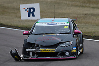 #22 Chris Smiley BTC Norlin Racing Honda Civic Type R (FK2) during BTCC Race 1  as part of the Dunlop MSA British Touring Car Championship - Rockingham 2018 at Rockingham, Corby, Northamptonshire, United Kingdom. August 12 2018. World Copyright Peter Taylor/PSP. Copy of publication required for printed pictures.