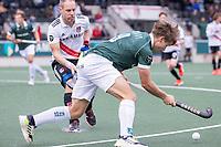 AMSTELVEEN - Alexander Schop (Rotterdam) tijdens de competitie hoofdklasse hockeywedstrijd heren, Amsterdam -Rotterdam (2-0) .  COPYRIGHT KOEN SUYK