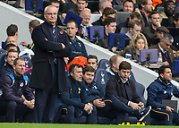 Football - 2016 / 2017 Premier League - Tottenham Hotspur vs. Leicester City<br /> <br /> Leicester City Manager Claudio Ranieri looking less than happy at White Hart Lane.<br /> <br /> COLORSPORT/DANIEL BEARHAM