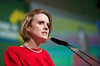 DEU, Deutschland, Germany, Dresden, 07.02.2014:<br />Europaparteitag von BÜNDNIS 90/DIE GRÜNEN, Messe Dresden. Terry (Theresa) Reintke, BÜNDNIS 90/DIE GRÜNEN.