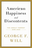 """September 14, 2021 - WORLDWIDE: George Will """"American And Discontents"""" Book Release"""