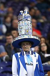 November 1, 2017 - Porto, Porto, Portugal - The FC Porto fan show his support before the UEFA Champions League Group G match between FC Porto and Leipzig at Dragao Stadium on November 1, 2017 in Porto, Portugal. (Credit Image: © Dpi/NurPhoto via ZUMA Press)